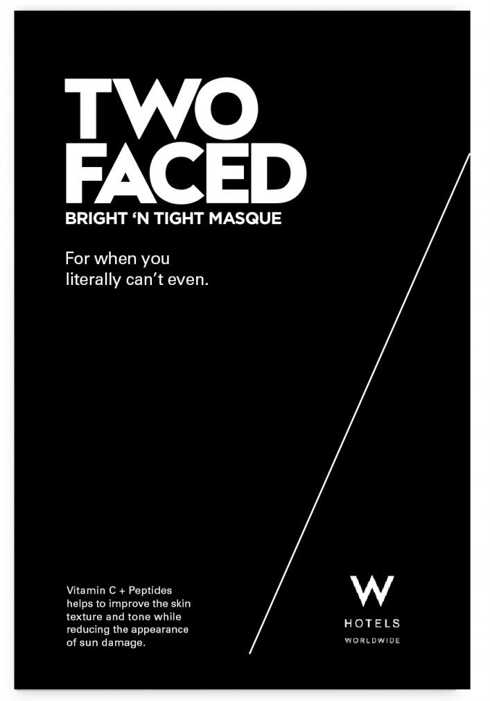 W Hotels Packaging